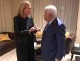 أبو مازن يجتمع مع تسيبي ليفني في نيويورك