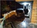 مجهولون يُحرقون سيارة ضابط شرطة في الخليل
