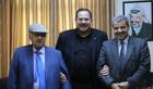 مسرحية يقوم بها ثلاث شخصيات فلسطينية