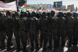 ارقام عن الاجهزة الامنية الفلسطينية