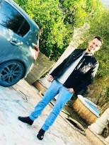 احراق مركبة المواطن/اوس غنام