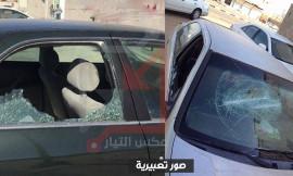 بسبب تأخر الشرطة .. مجهولون يكسرون زجاج سيارات المواطنين