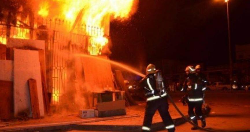 مجهولون يقدمون على احراق منزل مواطن بطولكرم