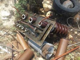 مجهولون يسرقون محطة تحويل كهربائية غرب نابلس