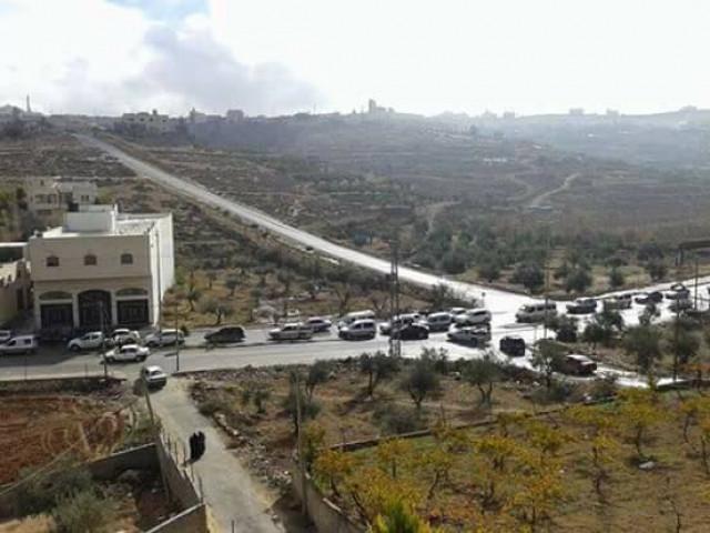 الشرطة عاجزة وأهالي قرية بني نعيم يقومون بدورها