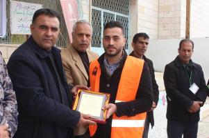 اطلاق نار وقنبلتي مولوتوف على مصنع باطون يعود للمواطن/ عاكف عبد الجليل حمد خلايلة