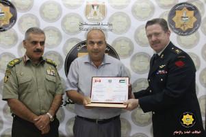 الاعتداء على الرائد في جهاز الأمن الوقائي/ محمد عبد الله أحمد بلوط