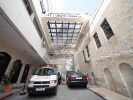 عناصر أمن بلدية نابلس يعتدون على رجل أمن