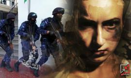 الشرطة تكسر حرمة بيت امرأة .. دون استجابة من أحد !!
