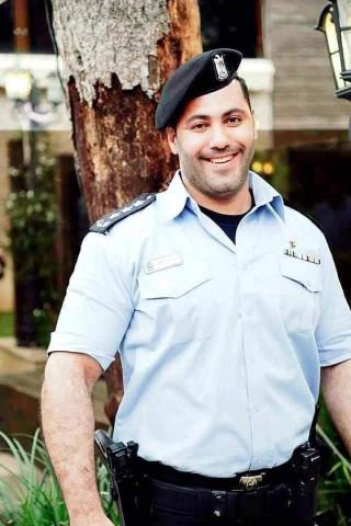 دهس النقيب صقر الحاج مدير دوريات شرطة رام الله