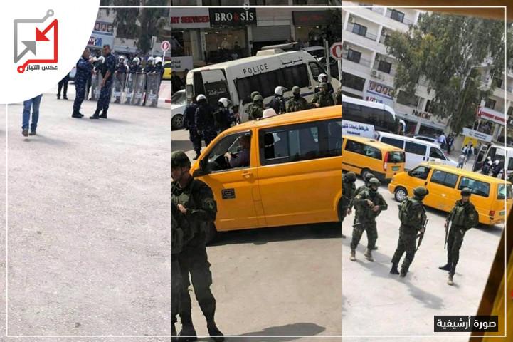 اعتداء على طالبات الجامعة الأمريكية وعكس التيار ينظر رد المحافظ