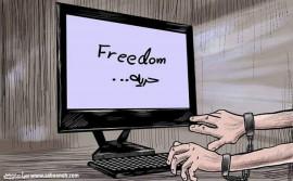 حجب المواقع الإخبارية من قبل النيابة العامة جريمة بحق الصحافة الفلسطينية.