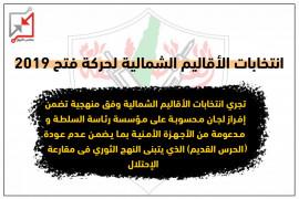انتخابات الأقاليم الشمالية لحركة فتح 2019