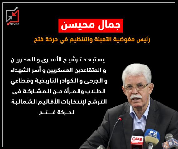 الإقصاء والإنتهازية فى إنتخابات الأقاليم الشمالية لحركة فتح