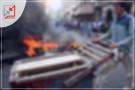 مجهولون يحرقون بسطة المواطن عودة جناجرة فى سلفيت