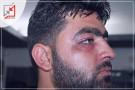 اعتدائين للأجهزة الأمنية بحق الزميل معاذ عمارنة قبل إعتداء الاحتلال