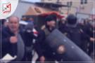 مواطنون يهاجمون مركز شرطة طولكرم والسبب مجهول ..
