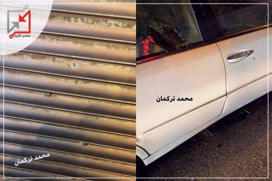 مسلحون مجهولون يُطلقون النار صَوب محلٍ للصرافة وسط مدينة رام الله الليلة الماضية.