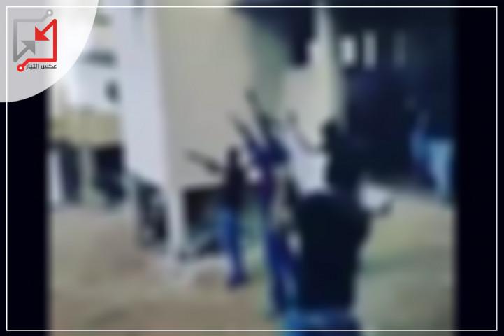 مسلحون مجهولون يطلقون النار على منزل المواطن حسام البظم في نابلس