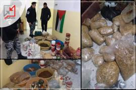 الضابطة الجمركية تضبط معملاً لتصنيع المعسل غير القانوني في رام الله لعدم دفع الضريبة