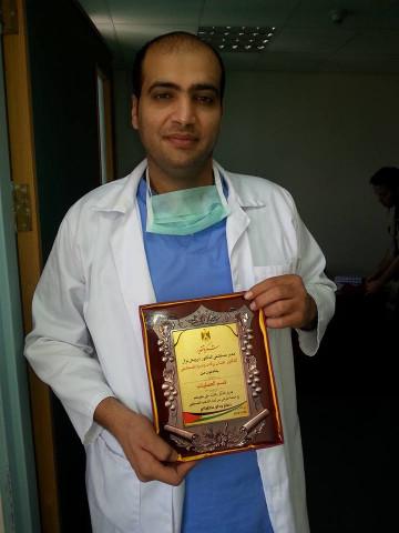 الاعتداء على مشرف التمريض/ بلال تيسير احمد طه في مستشفى درويش نزال، وذلك من قبل مواطن