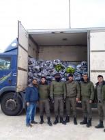 أبطال جهاز الأمن الوقائي يسجلون انتصارا كبيرا،فقد قبضوا بالأمس على مركبة تحمل #موز