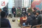 اهالي مدينة دورا يستمرون بالإضراب احتجاجاً على قطع الكهرباء