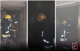 مجهولون يحرقون منزل مواطن في طولكرم