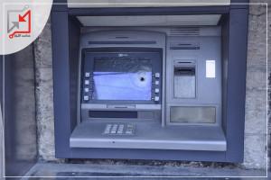 محاولة سرقة صراف آلي في بلدة دير عمار الليلة الماضية .