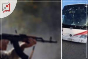 مسلحون مجهولون يطلقون النار على باص يعود للمواطن محمود حدوش في الخليل