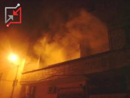 مجهول قام بافتعال حريق داخل منزل المواطن/ رشاد سليمان سالم عصاعص