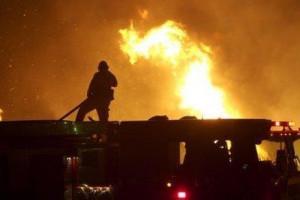 اندلاع حريق متعمد في منزل المواطن/أحمد ابراهيم سليمان عجوة