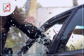 مجهولون يعتدون على سيارة تعود للمواطن مروان أبو ريا في طولكرم