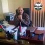 اصابة الضابط في جهاز الأمن الوقائي/ عبد الخالق يوسف اشتية بالقدم