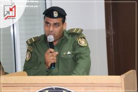 العسكري في جهاز الأمن الوطني/ ضياء أبو وعد يحطم مركبة مواطن