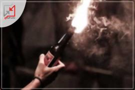 مجهولون يحرقون محلات المواطن نصري قنواتي في بيت لحم