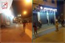 فيديو : إطلاق النار على محلات الرجبي لقطع السيارات بمنطقة وادي الهرية بالخليل