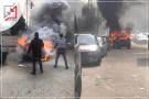 مجهولون يحرقون مركبة المواطن رائد الوحش في بيت لحم