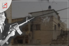 مسلحون مجهولون يطلقون النار على منزل المواطن خالد أبو عيشة في جنين