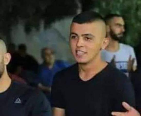 صورة الشاب الذي قُتِل بالرصاص فجر اليوم في طولكرم.