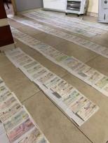 أحد تجار مدينة نابلس ينشر عدد الشيكات الراجعة خلال هذه الأزمة.