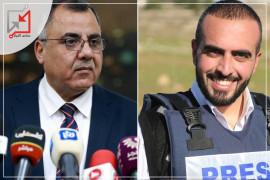 ملحم يتحول لمحقق مع الصحفيين في ايجازه الصحفي !
