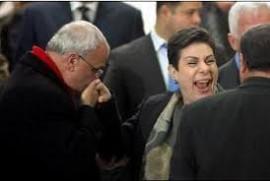 """""""عشراوي تحث على اتخاذ خطوات عملية وفاعلة في مواجهة الانتهاكات الإسرائيلية"""""""