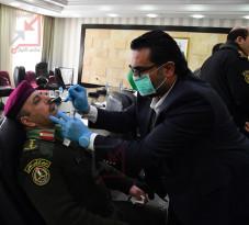الآن بالصور والدليل تصديقا لخبر اصابة حفيد عباس بالكورونا