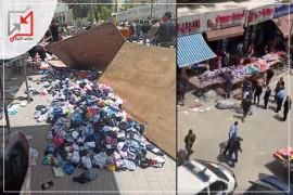 بالفيديو| الأجهزة الأمنية تعتدي على أصحاب البسطات بالخليل والهيئة المستقلة لحقوق الإنسان تدين الإعتداء