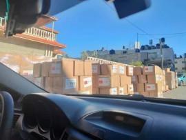 سرقة المساعدات وتغيير الممول