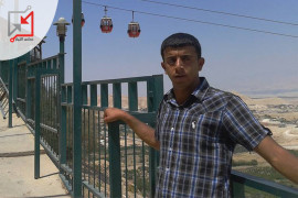 العسكري في جهاز حرس الرئيس المساعد/ نازك جميل يوسف جابر يعتدي على مواطنين
