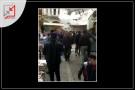 ازدحام في اسواق الخليل بالتزامن مع دعوات الحكومة بلبس الكمامات والقفازات اليدوية