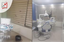 مجهولون يطلقون النار على عيادة أسنان قرب مفرق الديك