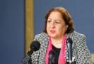 وزيرة الصحة مي كيلة : إصابة جديدة بفيروس كورونا لعامل